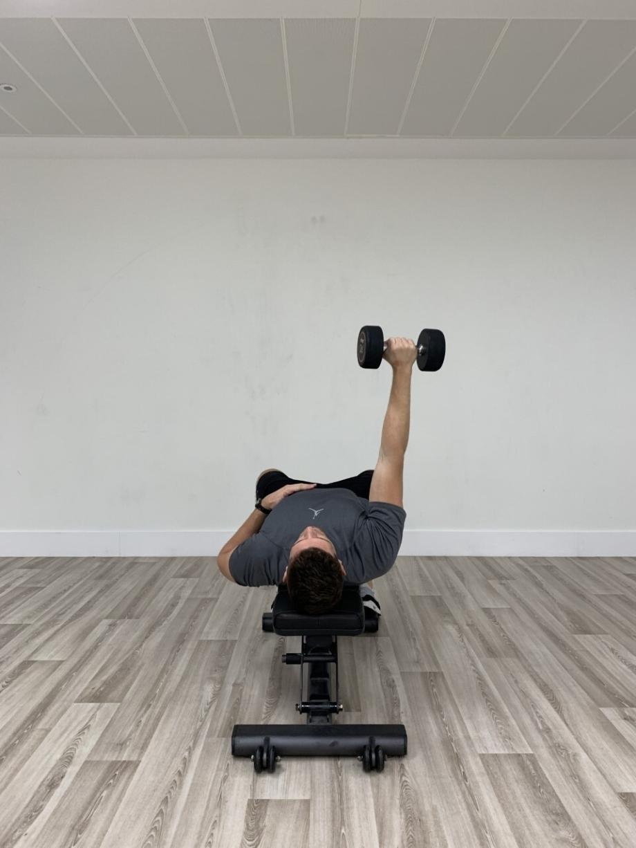 Single Arm Dumbbell Press 5